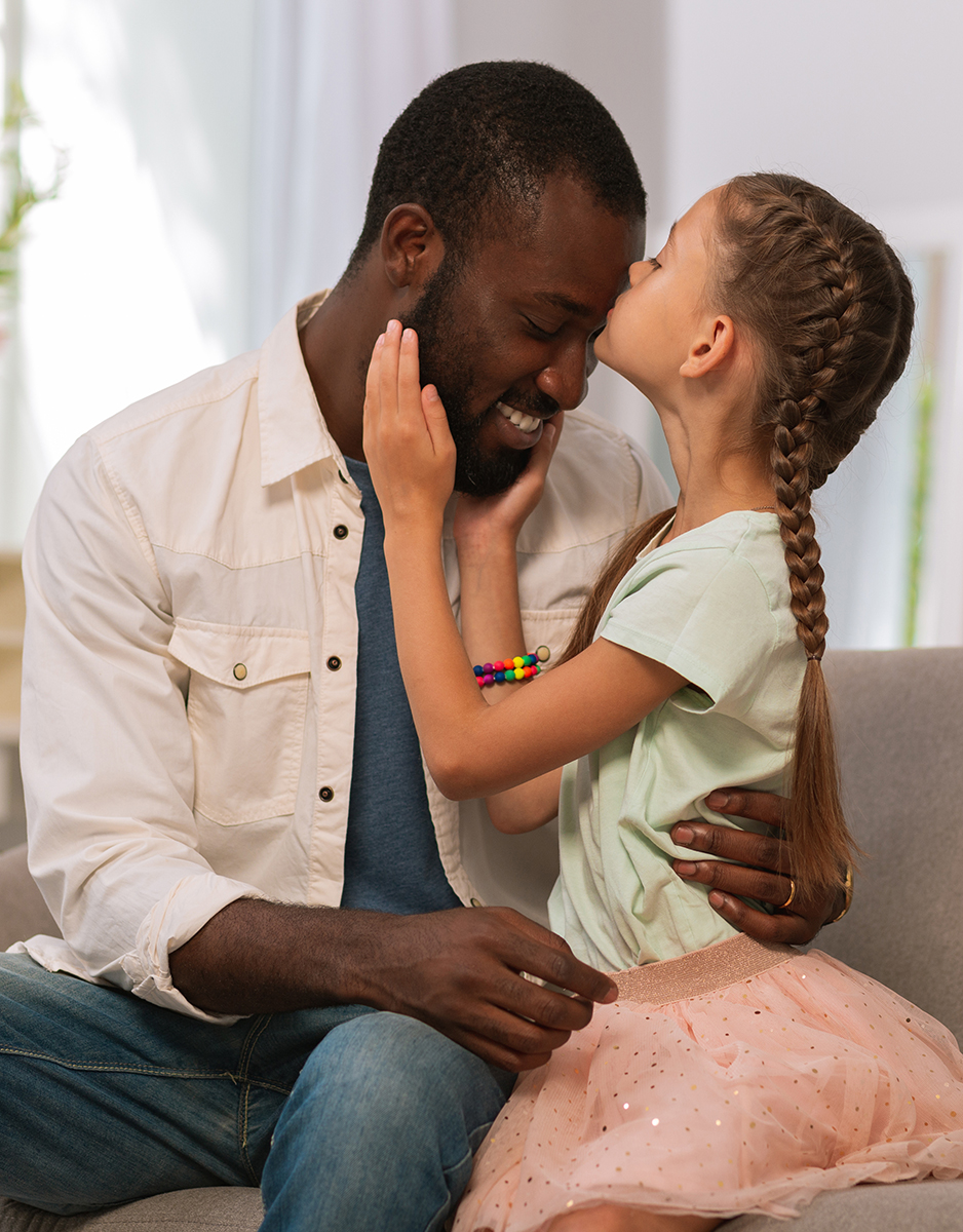 LGBT father and Adopted daughter