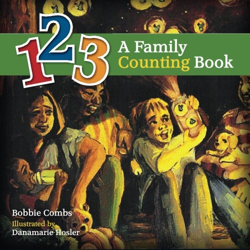 123 A Family Counting Book, book cover