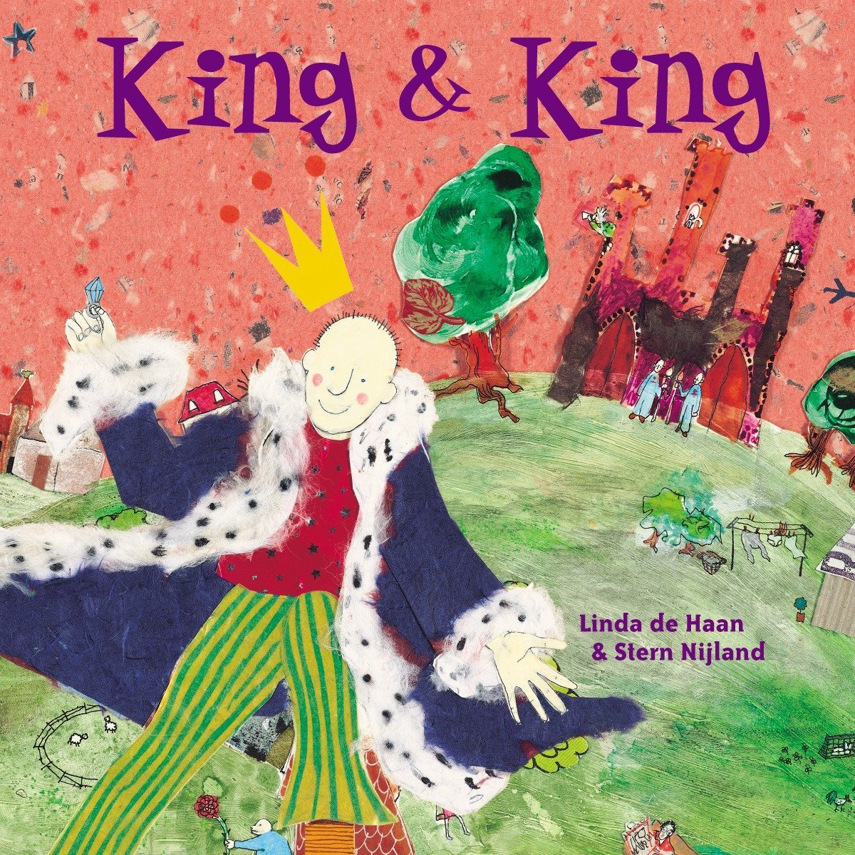 """Cover of book titled """"King and King"""""""