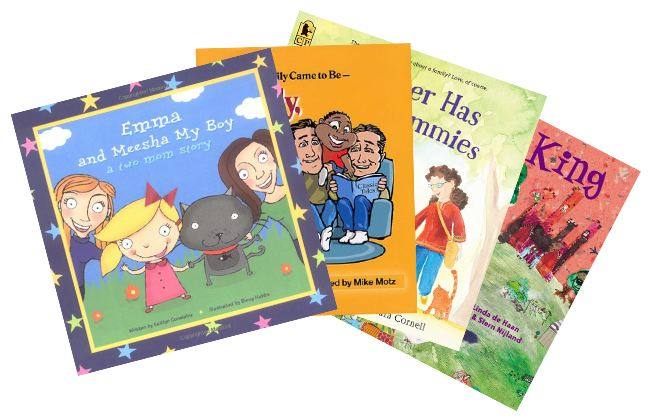 Collection of LGB Awareness Books for Children